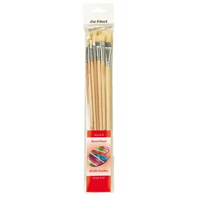 da Vinci BRISTLE Brushes Acrylic & Oil 5293 sett