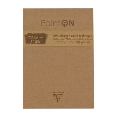 Clairefontaine Paint On Mix 250g blokkur 22,9x30,5 cm