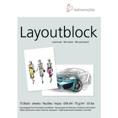 Hahnemühle Layoutblock 75g A4