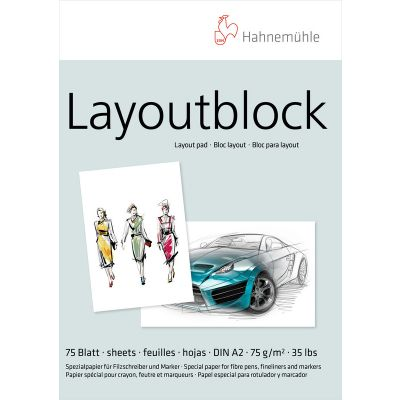 Hahnemühle Layoutblock 75g A2