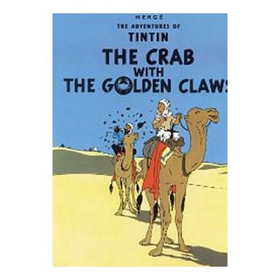 Nr. 9 The crab with the golden claws – bók EN (bleyt perma)